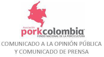 Comunicado a la opinión pública y comunicado de prensa