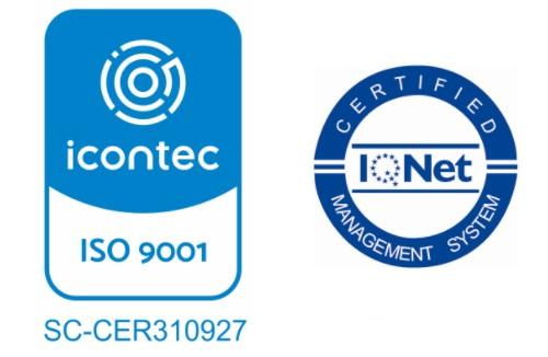 ¡Nos certificamos en la Norma ISO 9001 versión 2015!