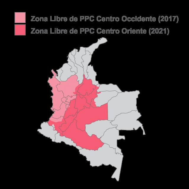 ¡Es un hecho! OIE certifica nueva zona libre de PPC en Colombia