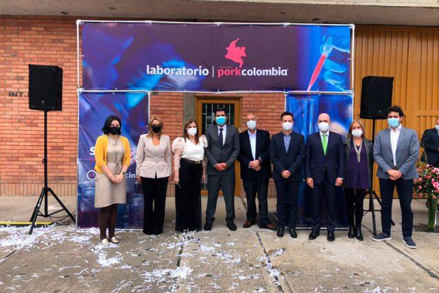Porkcolombia inaugura el laboratorio de diagnóstico veterinario y de alimentos